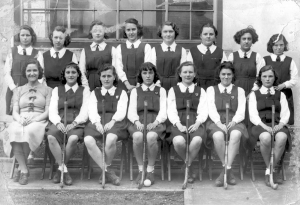 1937 circa Hockey