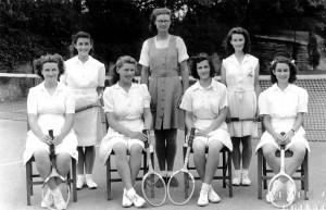 1948 circa Tennis