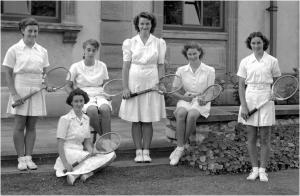 1947 July Tennis