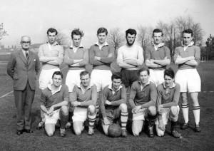 1960 Old Boys Football Team