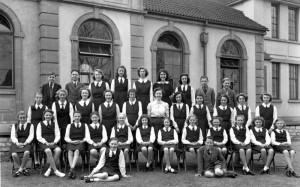 1946 School Choir circa 1946