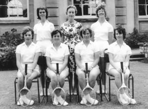 1961 Circa Tennis