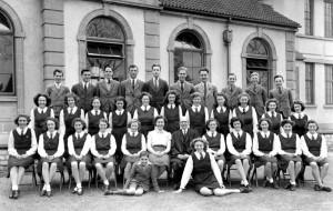 1946/7 circa School Choir